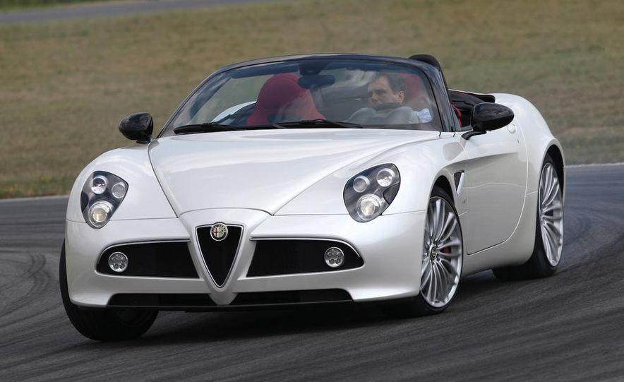 2010 Alfa Romeo 8C Spider - Slide 1