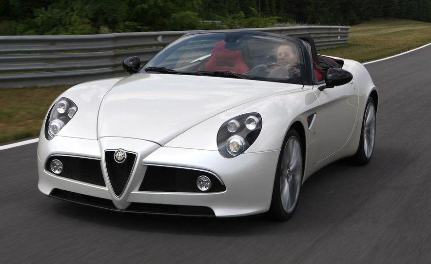 2010 Alfa Romeo 8C Spider - Slide 5
