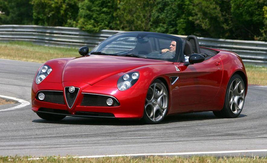 2010 Alfa Romeo 8C Spider - Slide 22