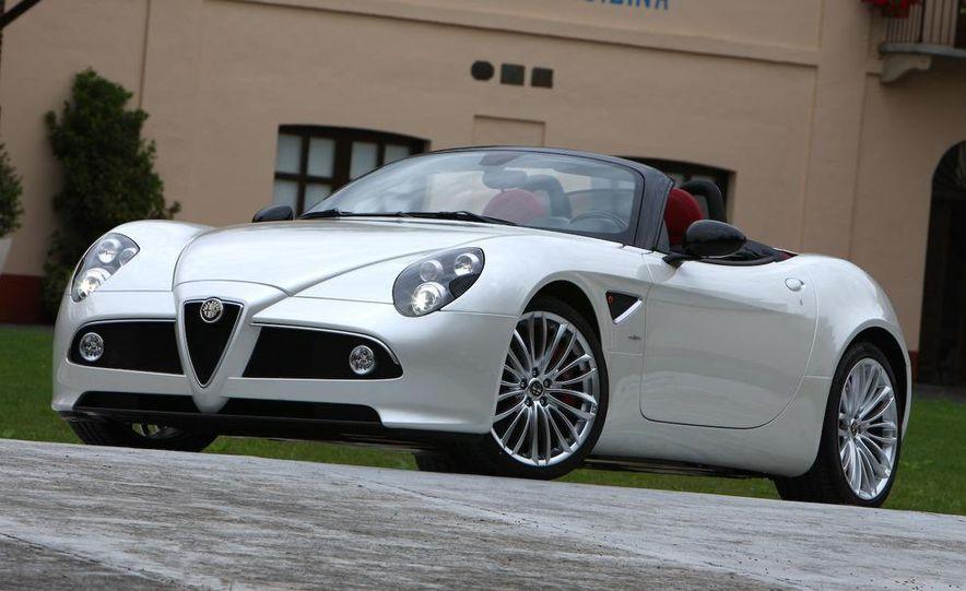 2010 Alfa Romeo 8C Spider - Slide 15
