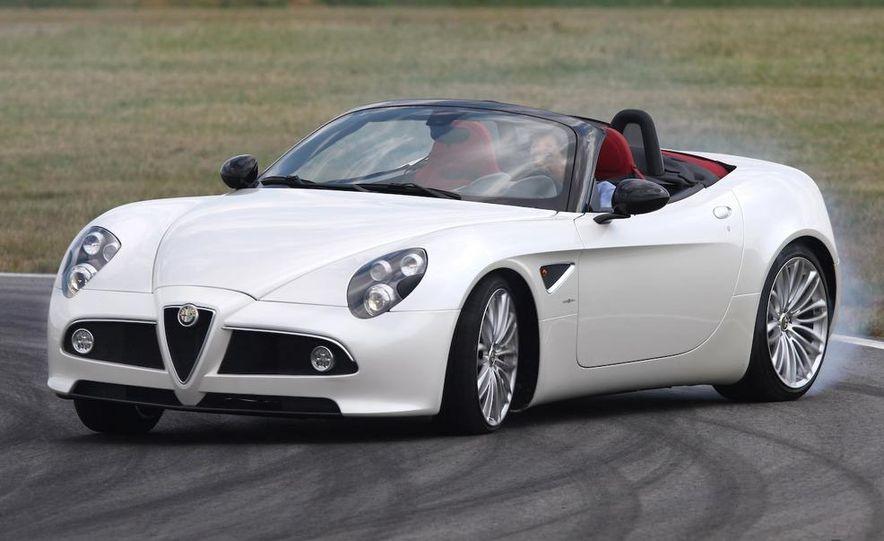 2010 Alfa Romeo 8C Spider - Slide 18