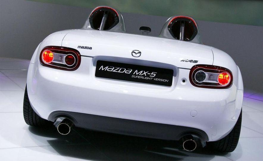 Mazda MX-5 Miata Superlight Concept - Slide 35