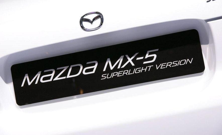 Mazda MX-5 Miata Superlight Concept - Slide 41