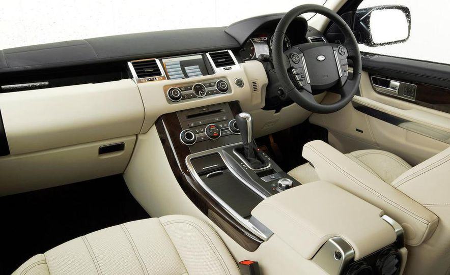 2010 Land Rover Ranger Rover Sport - Slide 12