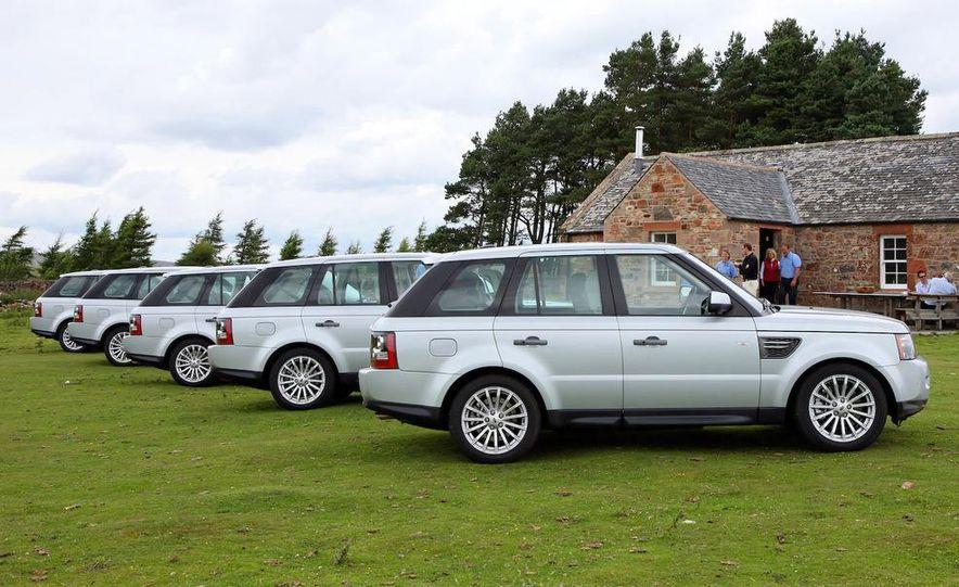 2010 Land Rover Ranger Rover Sport - Slide 9