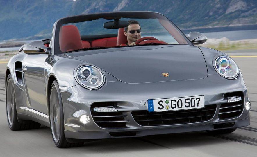 2010 Porsche 911 Turbo Cabriolet - Slide 1