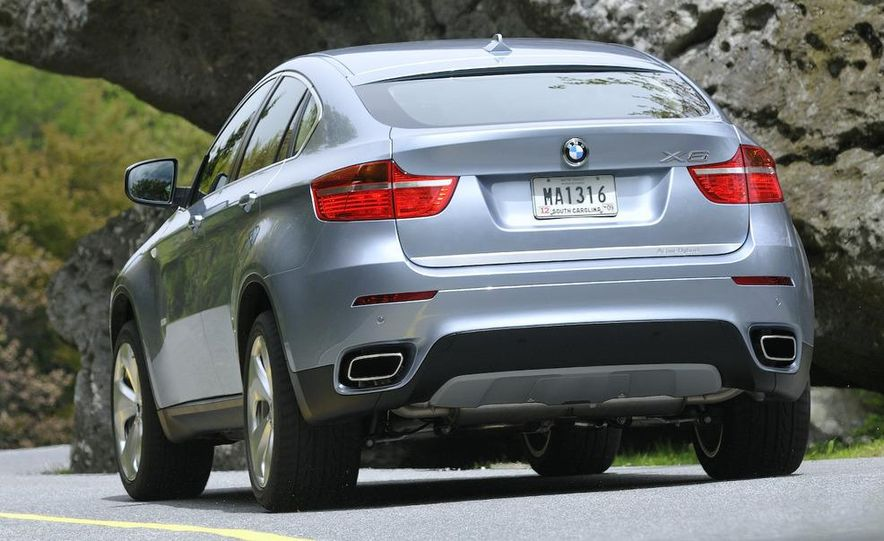 2010 BMW ActiveHybrid X6 - Slide 55