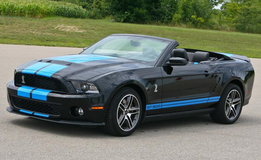 2010 Ford Mustang Shelby GT500 convertible - Slide 16