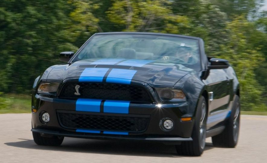 2010 Ford Mustang Shelby GT500 convertible - Slide 34