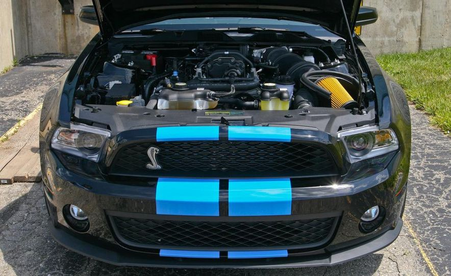 2010 Ford Mustang Shelby GT500 convertible - Slide 52