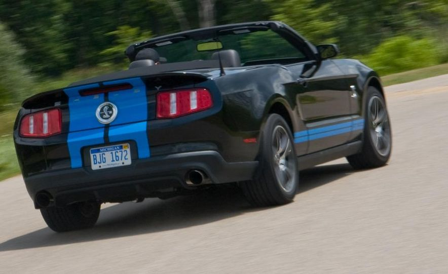2010 Ford Mustang Shelby GT500 convertible - Slide 67