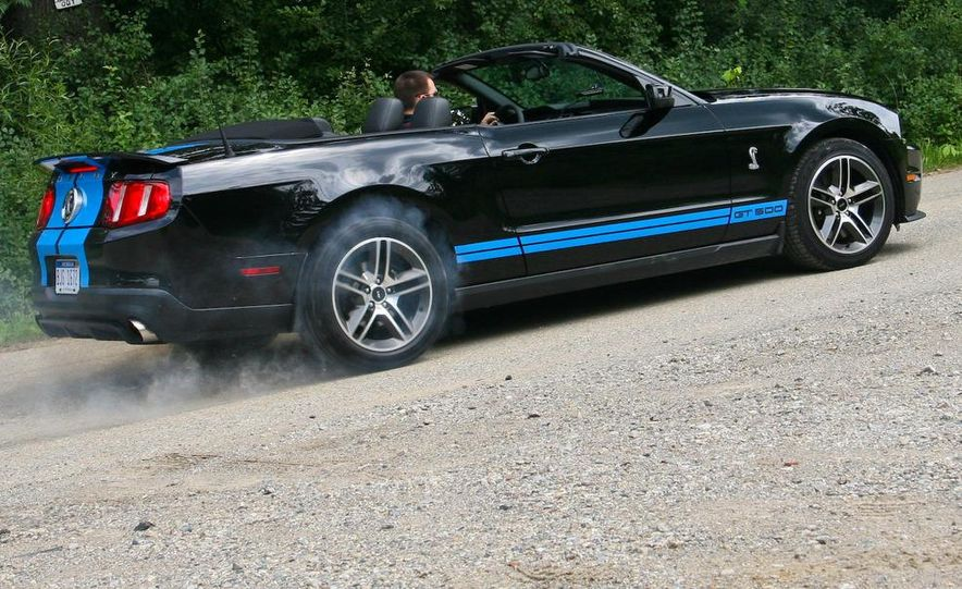 2010 Ford Mustang Shelby GT500 convertible - Slide 71