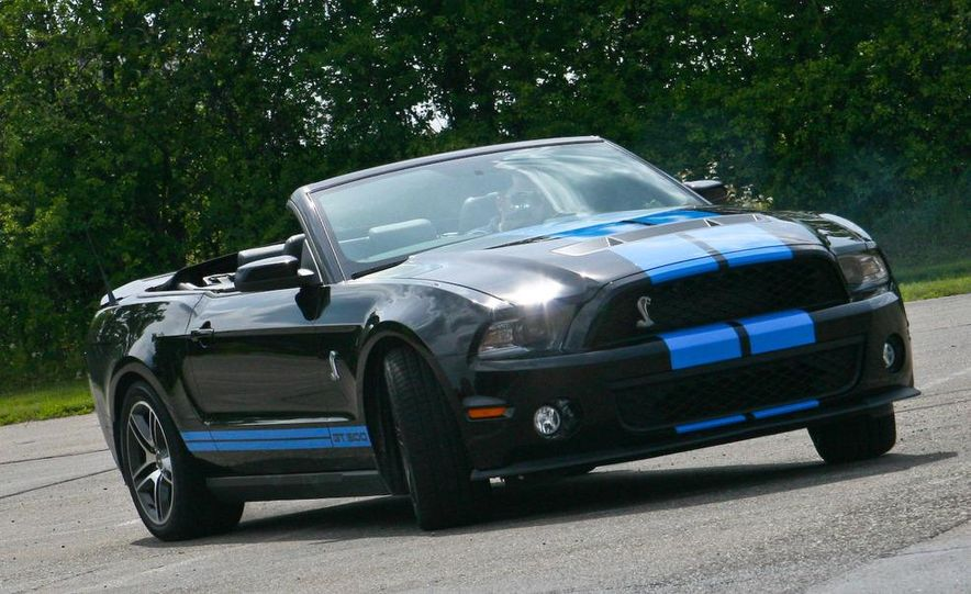 2010 Ford Mustang Shelby GT500 convertible - Slide 77