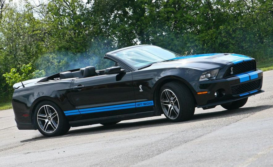 2010 Ford Mustang Shelby GT500 convertible - Slide 80