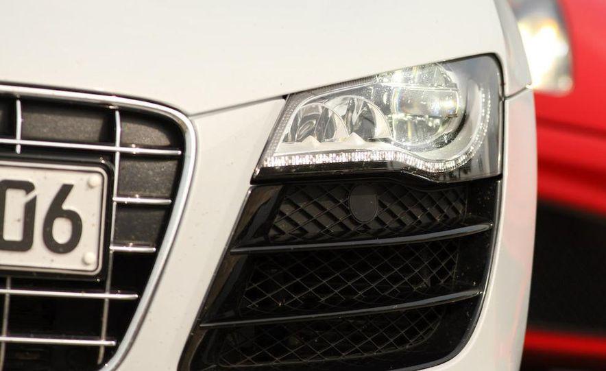 2010 Audi R8 5.2 V-10 FSI Quattro LED headlight and daytime-running-light - Slide 7