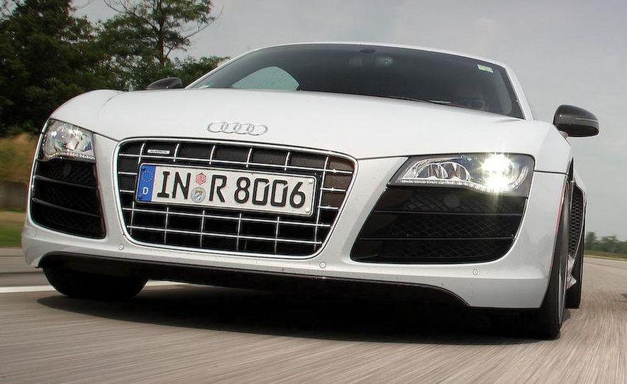 2010 Audi R8 5.2 V-10 FSI Quattro LED headlight and daytime-running-light - Slide 9