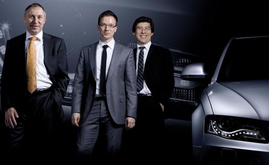 2010 Audi R8 5.2 V-10 FSI Quattro LED headlight and daytime-running-light - Slide 4
