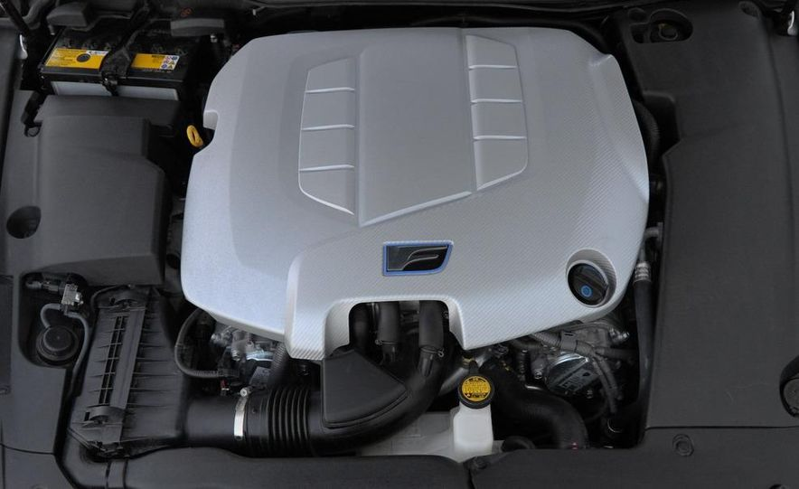 2008 Lexus IS F - Slide 35