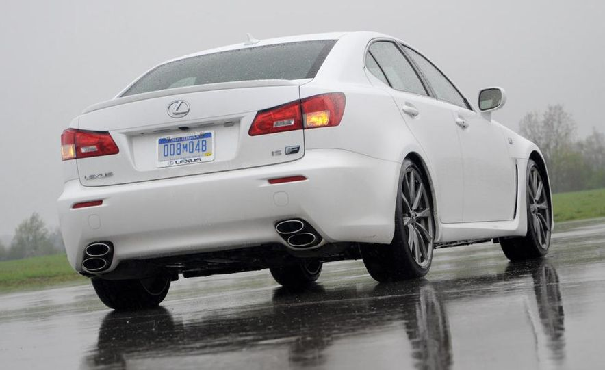 2008 Lexus IS F - Slide 13