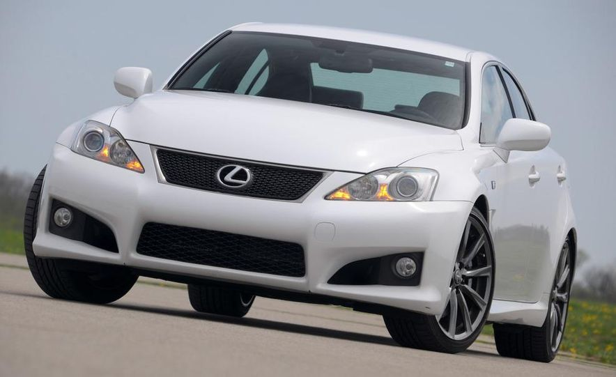 2008 Lexus IS F - Slide 55