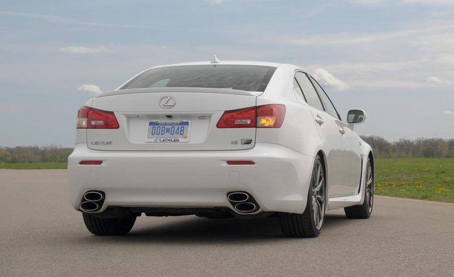 2008 Lexus IS F - Slide 59