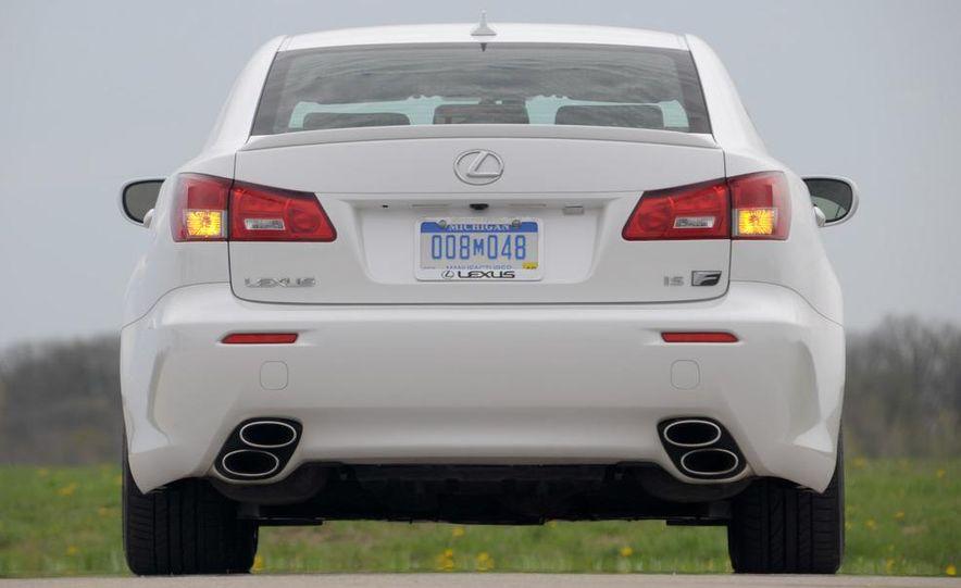 2008 Lexus IS F - Slide 60