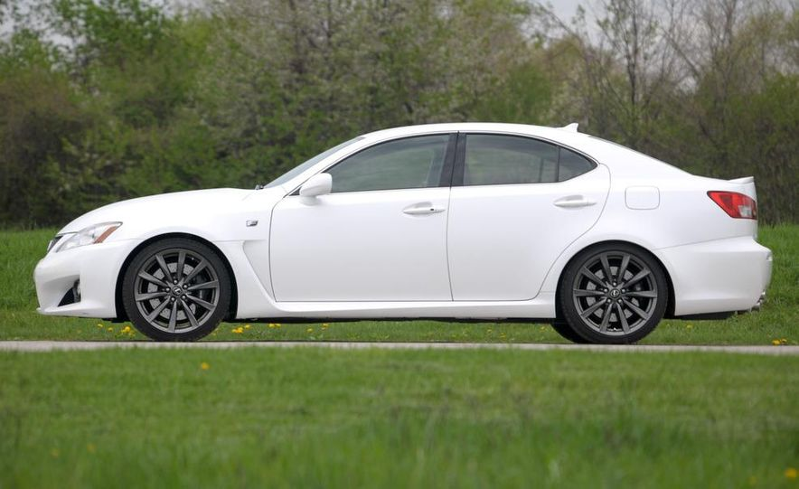 2008 Lexus IS F - Slide 61