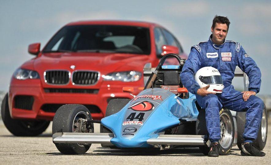 Formula Mazda driver Juan Marchand - Slide 1