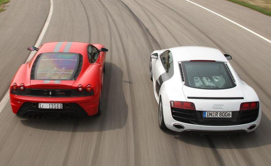 2009 Ferrari 430 Scuderia and 2010 Audi R8 5.2 V-10 FSI Quattro - Slide 2