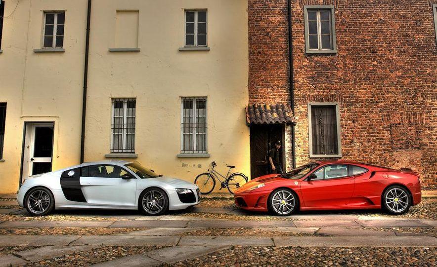 2009 Ferrari 430 Scuderia and 2010 Audi R8 5.2 V-10 FSI Quattro - Slide 6