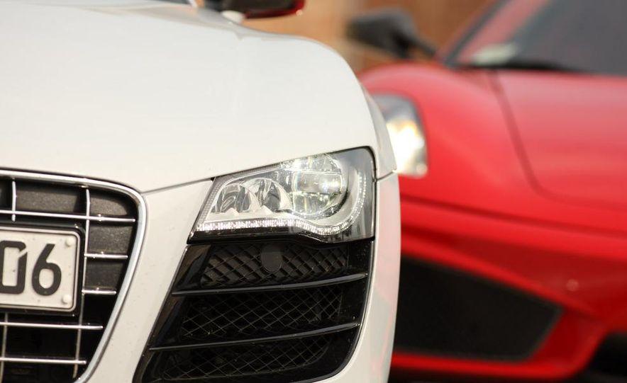 2009 Ferrari 430 Scuderia and 2010 Audi R8 5.2 V-10 FSI Quattro - Slide 15