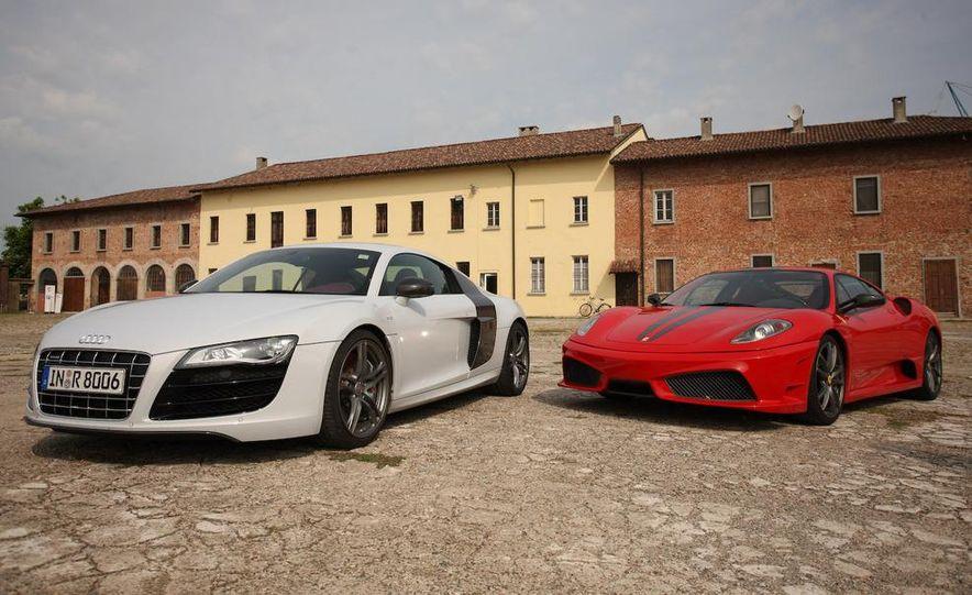 2009 Ferrari 430 Scuderia and 2010 Audi R8 5.2 V-10 FSI Quattro - Slide 8
