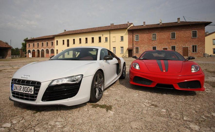 2009 Ferrari 430 Scuderia and 2010 Audi R8 5.2 V-10 FSI Quattro - Slide 9