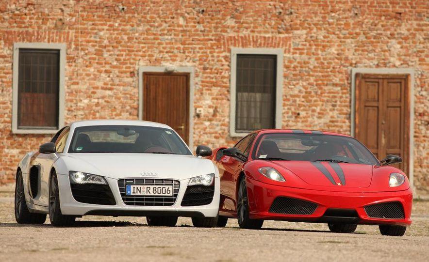 2009 Ferrari 430 Scuderia and 2010 Audi R8 5.2 V-10 FSI Quattro - Slide 10