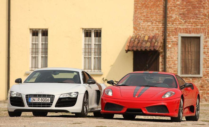2009 Ferrari 430 Scuderia and 2010 Audi R8 5.2 V-10 FSI Quattro - Slide 11