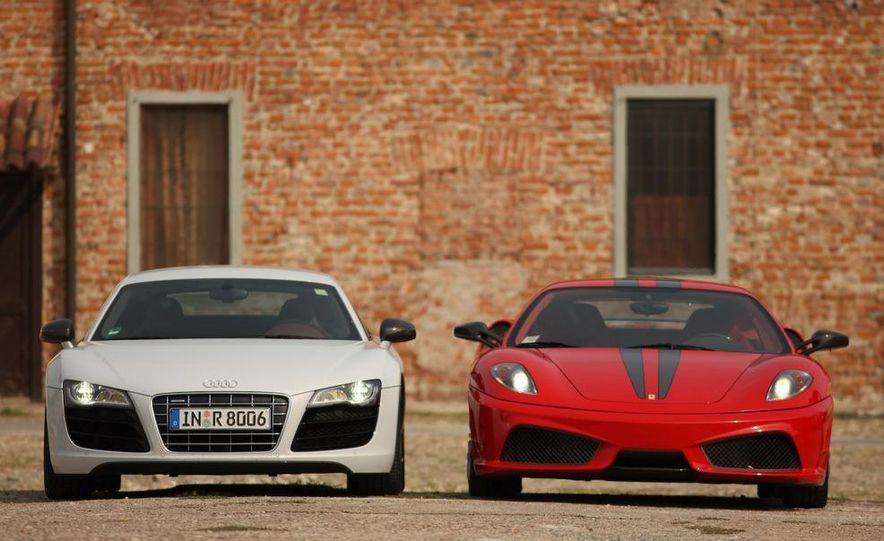 2009 Ferrari 430 Scuderia and 2010 Audi R8 5.2 V-10 FSI Quattro - Slide 12