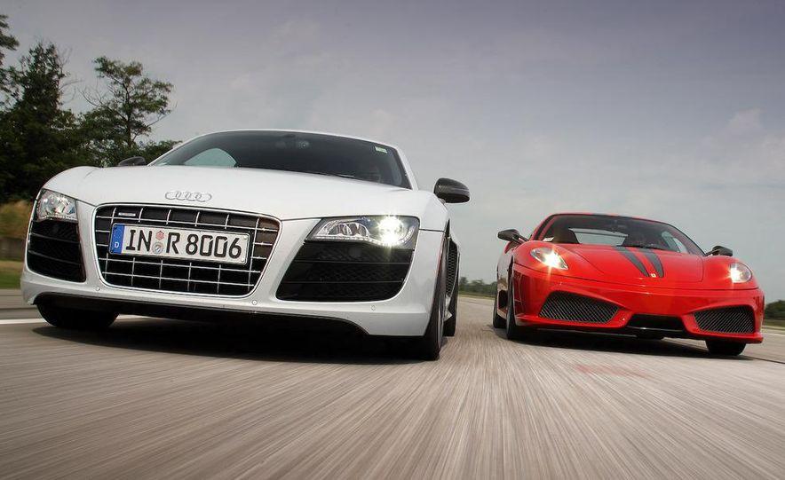 2009 Ferrari 430 Scuderia and 2010 Audi R8 5.2 V-10 FSI Quattro - Slide 3