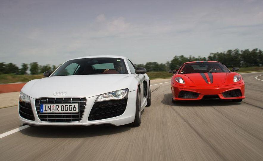 2009 Ferrari 430 Scuderia and 2010 Audi R8 5.2 V-10 FSI Quattro - Slide 4