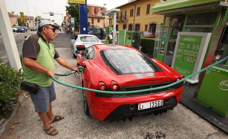 2009 Ferrari 430 Scuderia and 2010 Audi R8 5.2 V-10 FSI Quattro - Slide 17