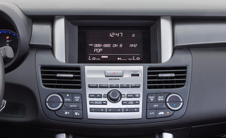 2010 Acura RDX interior - Slide 23