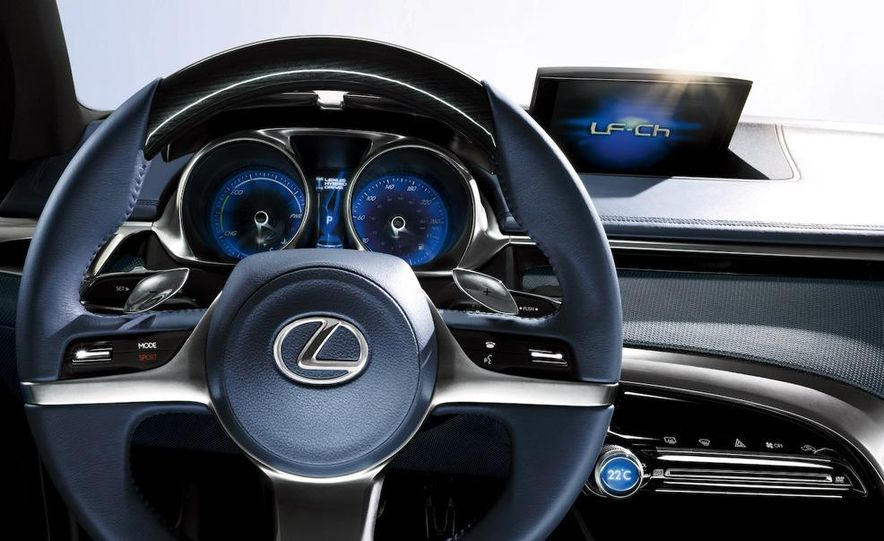 Lexus LF-Ch concept - Slide 43