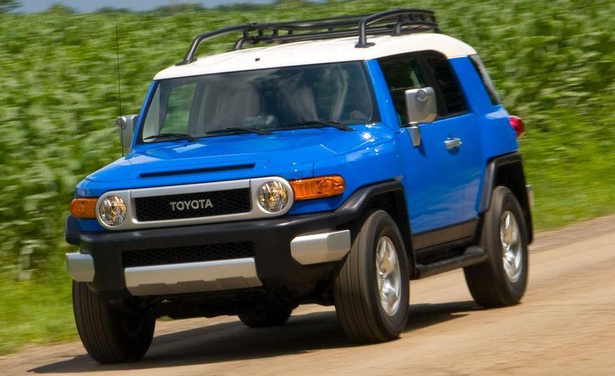 2009 Toyota FJ Cruiser door badge - Slide 56