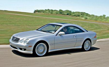 2001 - 2002 Mercedes-Benz CL600