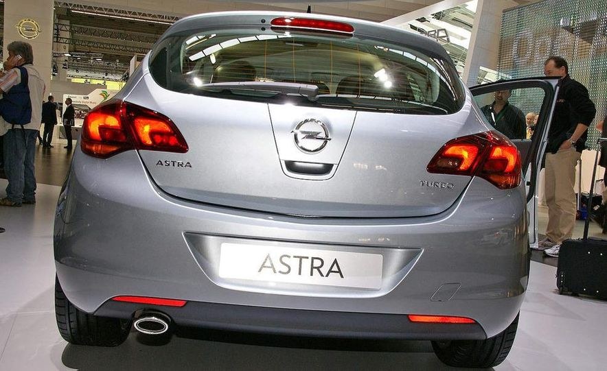 2010 Opel Astra Turbo - Slide 4