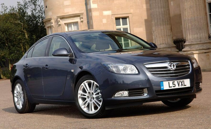 2009 Vauxhall Insignia Sports Tourer - Slide 11