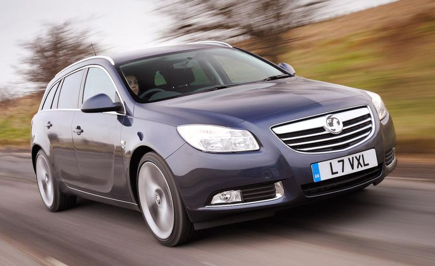2009 Vauxhall Insignia Sports Tourer - Slide 14