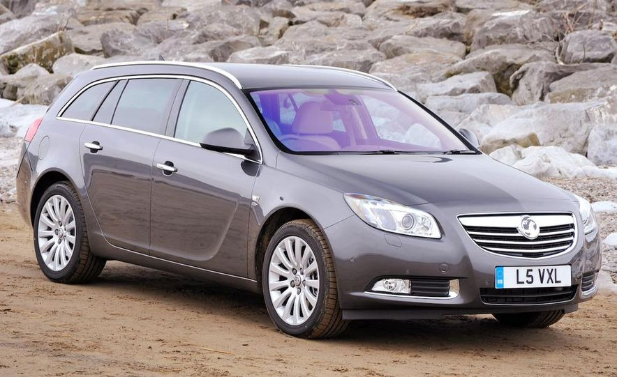 2009 Vauxhall Insignia Sports Tourer - Slide 4