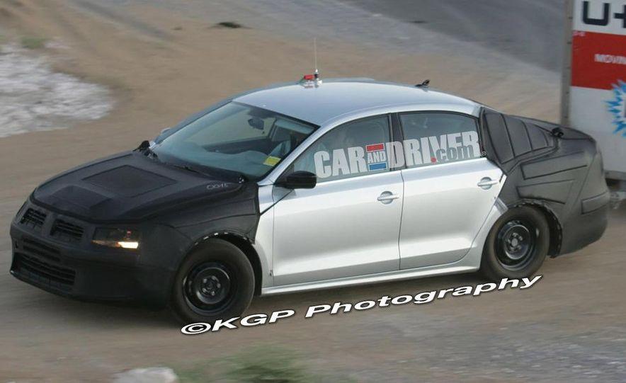2011 Volkswagen Jetta (spy photo) - Slide 1