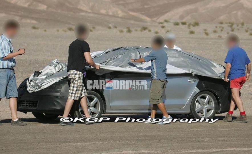 2011 Volkswagen Jetta (spy photo) - Slide 2