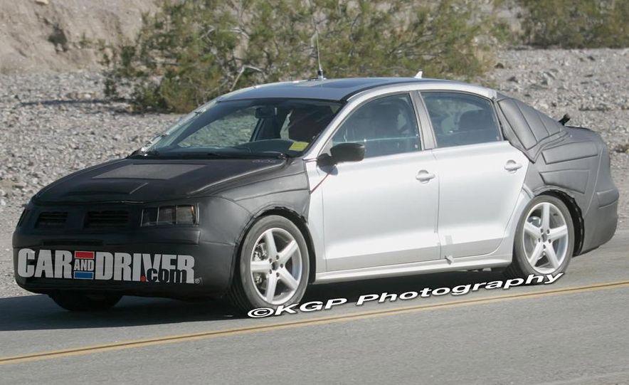 2011 Volkswagen Jetta (spy photo) - Slide 4